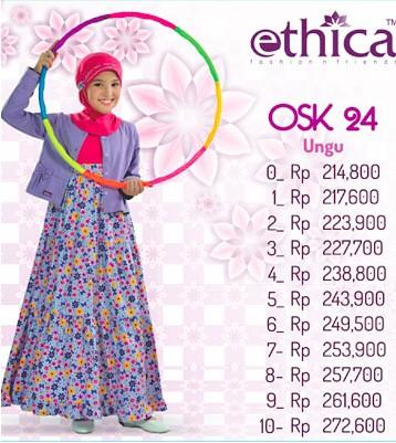 Baju Muslim Anak Ethica Ethica Collection