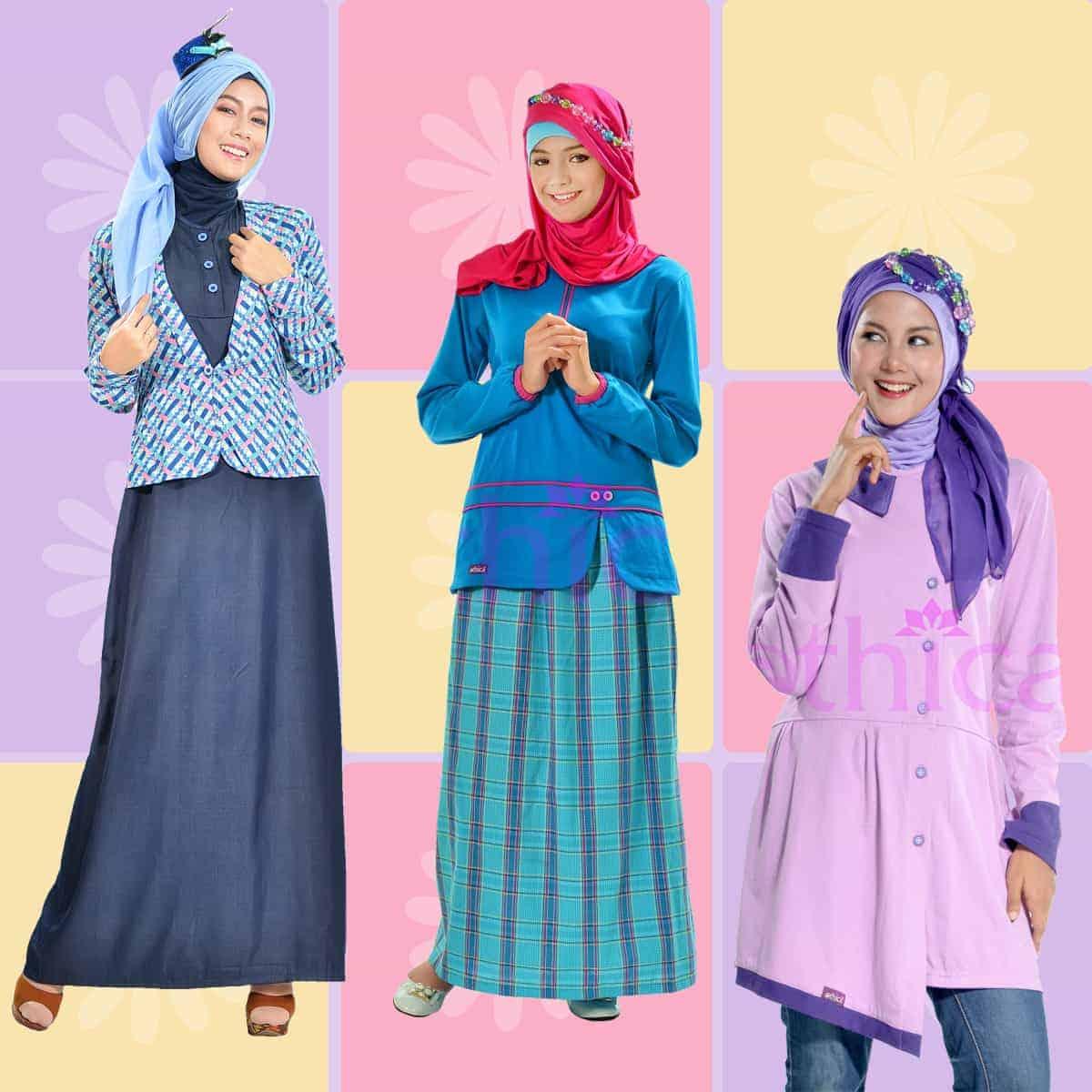 Jual Baju Muslim Modern Modis Ethica Collection