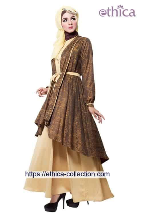 Model Baju Pesta Muslim Terbaru 2016 Ethica Collection