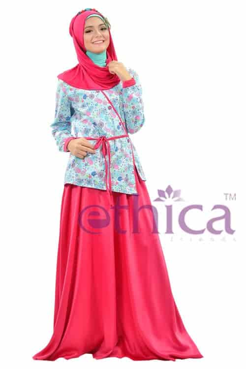 Model Baju Pesta Renda Muslim Terbaru Ethica Collection