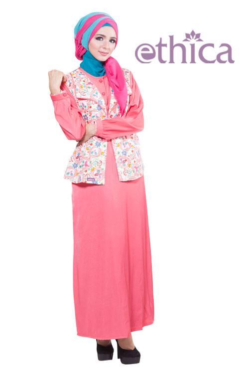 Model Busana Muslim Terbaru Untuk Pesta Ethica Collection