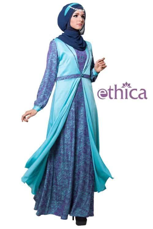 Baju Pesta Muslimah Modern 2014 Model Busana Pesta Gaun