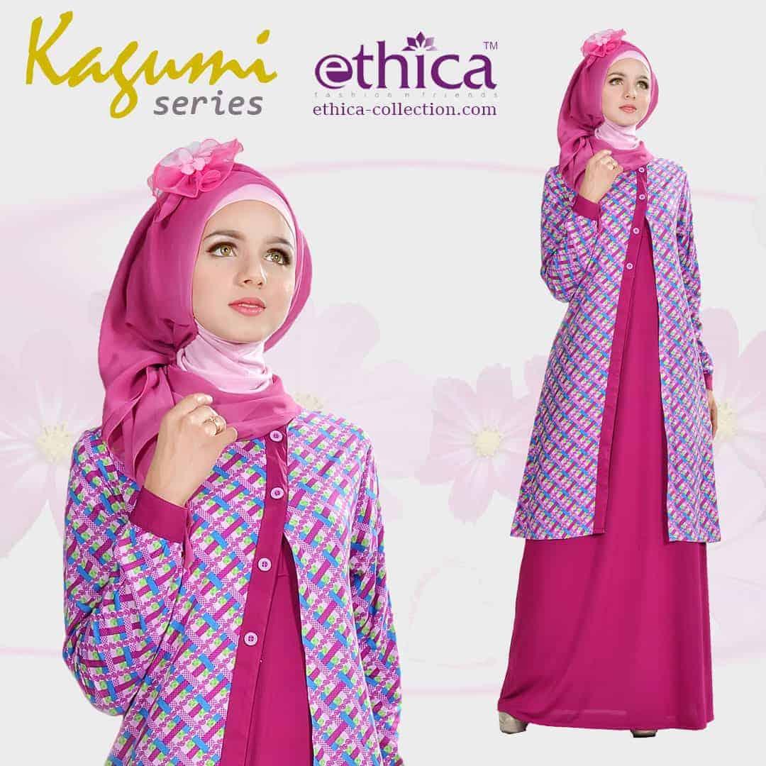Model Baju Gaun Pesta Muslim Terbaru Ethica Collection