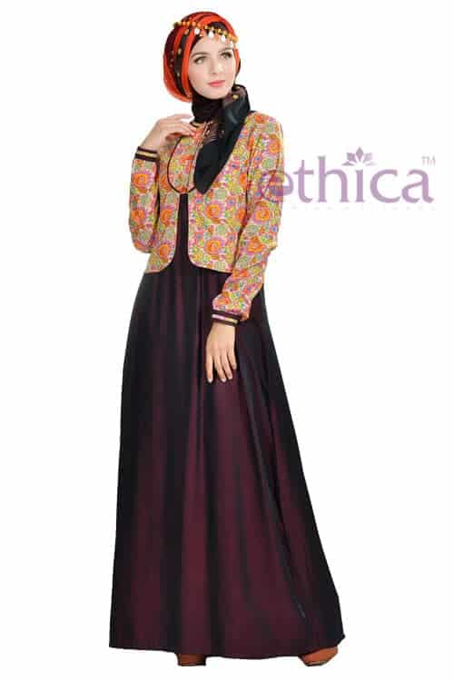 Model Baju Gaun Pesta Muslim Terbaru Ethica Collection