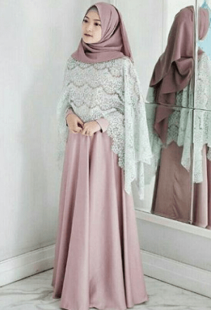 Kebaya Modern Hijab dengan Rok