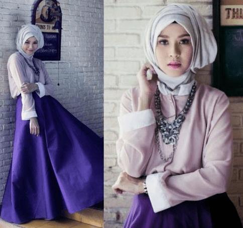 Inspirasi Fashion Hijab Artis Indonesia Ethica Collection