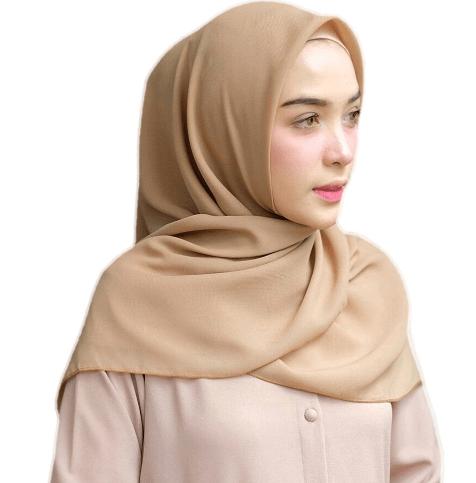 Jenis Kain Cocok Untuk Jilbab Segi Empat Ethica Collection