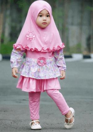 baju muslim anak perempuan 2