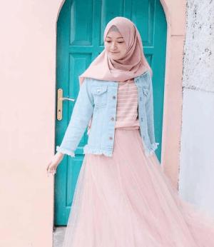 Hijab pastel
