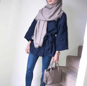 hijab warna galaxy