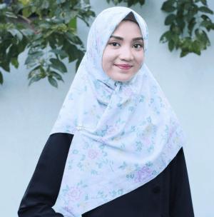 hijab bahan katun