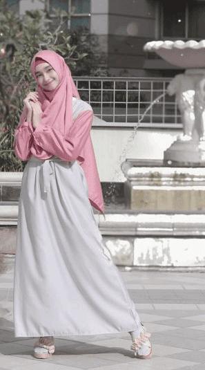 Hijab syar'i buat ke kampus