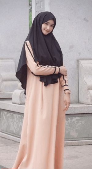 Hijab syar'i casual