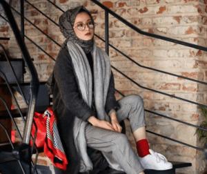 Style hijab sporty