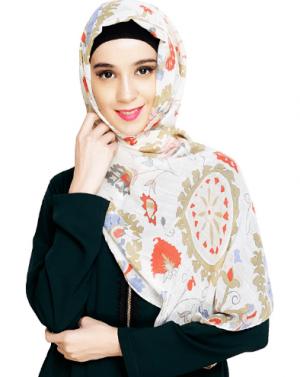 Trend Printed Hijab