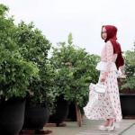 Gaya Hijab Menyambut HUT RI ke 74