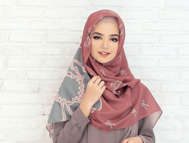 Gaya Hijab Syar'i 2