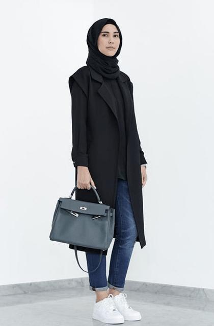 Cara Mendapatkan Gaya Jilbab Street Style Modern