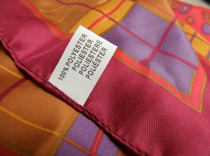 penggunaan jenis kain polyester