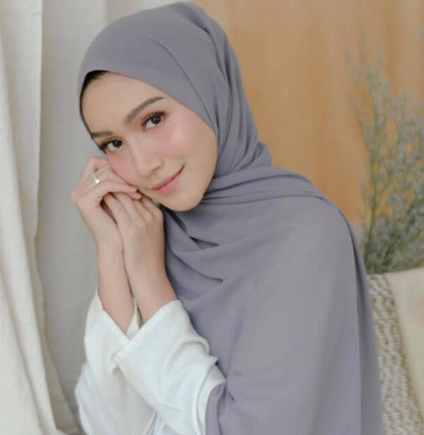 bahan bagus untuk jilbab pashmina